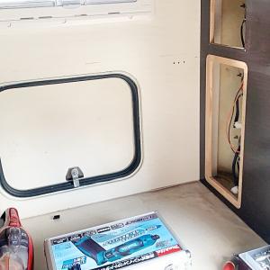 バゲージルーム床の劣化の修理DIY その1