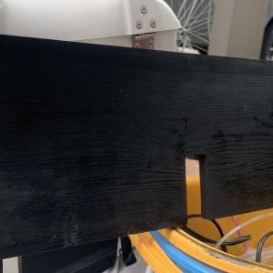 バゲージルーム床の劣化の修理DIY その5