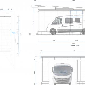 車庫の図面