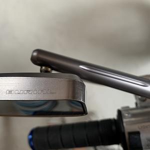 APE100 ミラー交換とメンテナンス