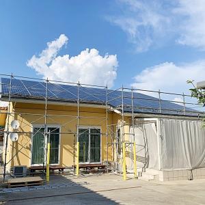 我が家の屋根が凹んでる!! ソーラーパネル撤去&設置
