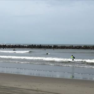 乗りまくりました^_^サーフィンデビュー戦