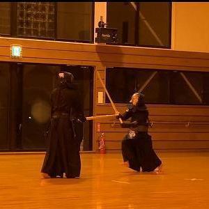 二男の剣道稽古 20210410