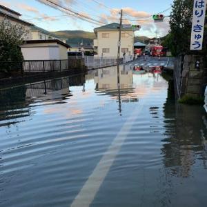 台風19号の猛威