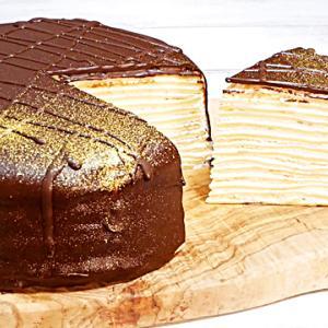 チョコレートミルクレープの作り方
