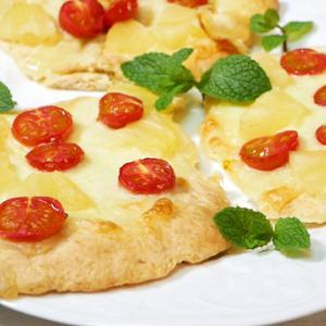 ホットケーキミックスでピザ(フォルマッジメープル)を作ろう