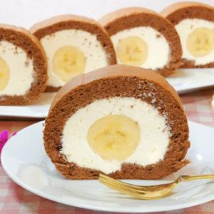 バナナロールケーキの作り方