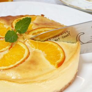 簡単オレンジチーズケーキの作り方