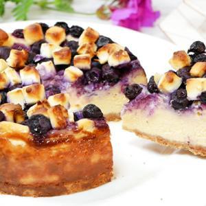 ブルーベリーチーズケーキの作り方