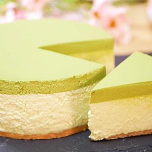 抹茶の濃厚ムースケーキの作り方