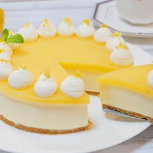 爽やかレモンのレアチーズケーキの作り方