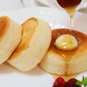 【ヴィーガン】優しい甘さのお店のふわふわ米粉パンケーキ