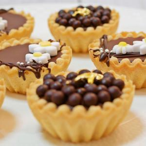簡単 生チョコタルトの作り方【プレゼントラッピング】
