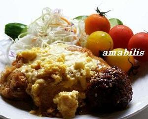 チキンと野菜のプレート