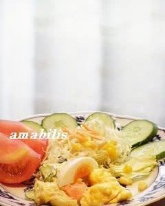 玉子と野菜のサラダセット