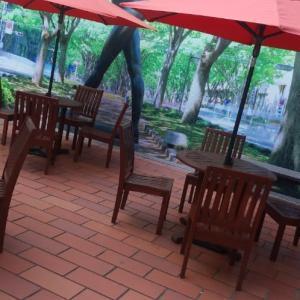 カフェで・・対応が・・ねぇ・・('_')
