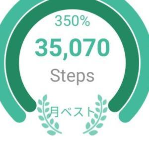 25km歩いて1,000kcal消費した。