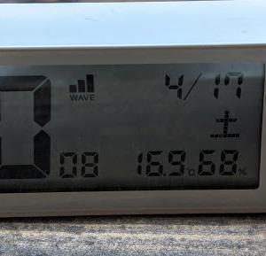 湿度90%でカビだらけ。