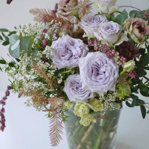 バラの季節☆紫のバラはエレガント