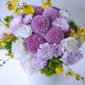冬の和装ブーケに☆華やかで可憐な花材