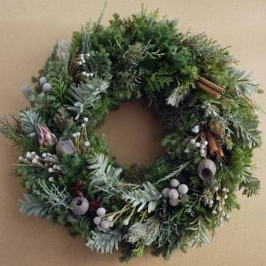 森のクリスマスリース☆