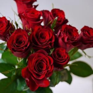 クリスマスからお正月☆赤いバラ