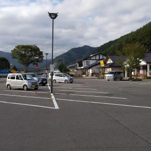 軽井沢と白根山を巡って道の駅中山盆地で車中泊した