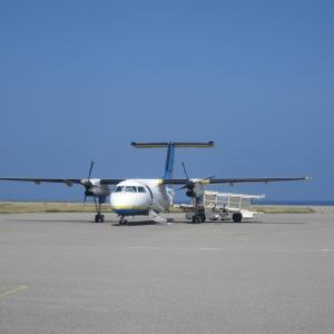 日本最西端の空気を感じながら与那国島空港でローカルに触れる