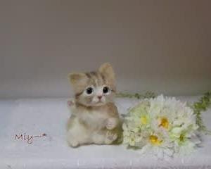 招き猫ちゃん♪生まれました(^^♪