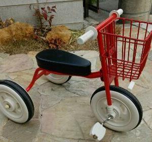 無印三輪車を自宅リメイクDIY
