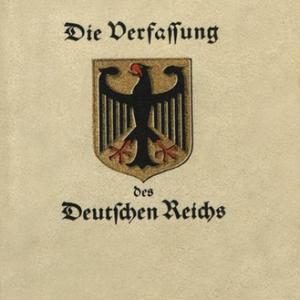 第475回 ワイマール憲法と麻生発言の真意~「ナチスの手口」とは何なのか?~