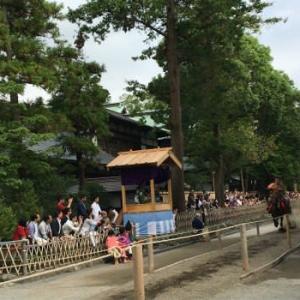 鎌倉で侯爵邸と流鏑馬を見る-2
