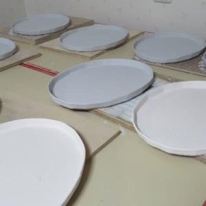 陶芸をしています