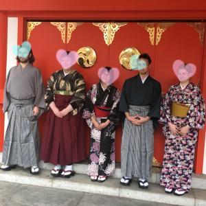 日本語学校の着付けの助手