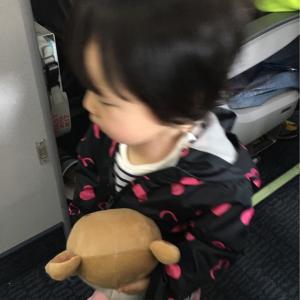 娘(1歳半)と乗る飛行機