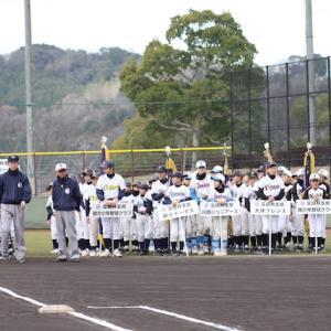 2019年2月1日 富田林少年軟式野球連盟お別れ大会 開会式&第一試合
