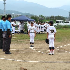 令和3年9月12日 第20回 富田林ロータリー旗争奪少年野球大会  3日目
