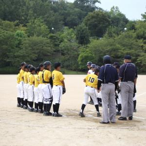 第19回富田林ロータリークラブ旗争奪少年軟式野球大会 二日目①