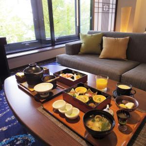 朝食 ルームサービス@ホテル龍名館お茶の水本店