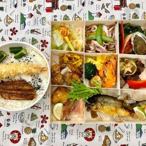 台湾で人気の和食ビュッフェレストランの防疫弁当