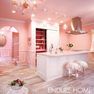 フェミニンなピンクハウスはお好きですか?