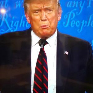 アメリカ大統領テレビ討論会 外見力から見てみると・・。
