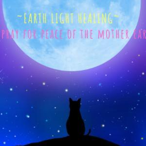 7月新月〈内なる愛〉犬猫と一緒にアースライトヒーリング