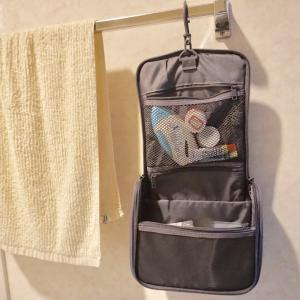 【無印良品】我が家の花粉症対策の救世主・無印の「吊るして使える洗面用具ケース」