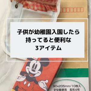 【ミニマリストの持ち物】入園準備グッズ以外で持っておくと便利な3つのアイテム