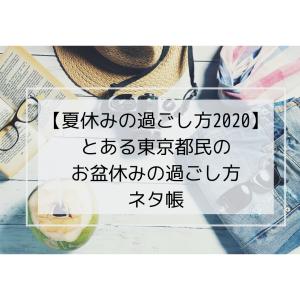 【夏休みの過ごし方2020】とある東京都民一家(5歳3歳男子のいる)のお盆休みの過ごし方ネタ帳8選