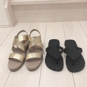 【プチプラ】服好きミニマリストがこの夏履き倒す2足のサンダル