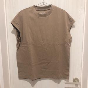 【服好きミニマリスト】無印良品で夏服(フレンチスリーブTシャツ)を買い足し!