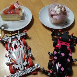 赤&ピンク(*´∀`*)