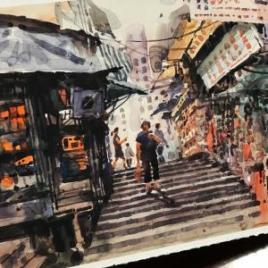 香港からのポストカード!